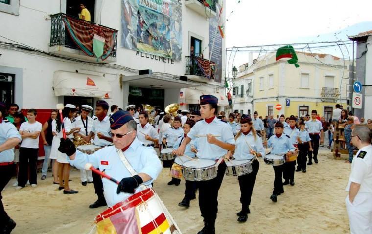Abertura das Festas do Barrete Verde e das Salinas 2015