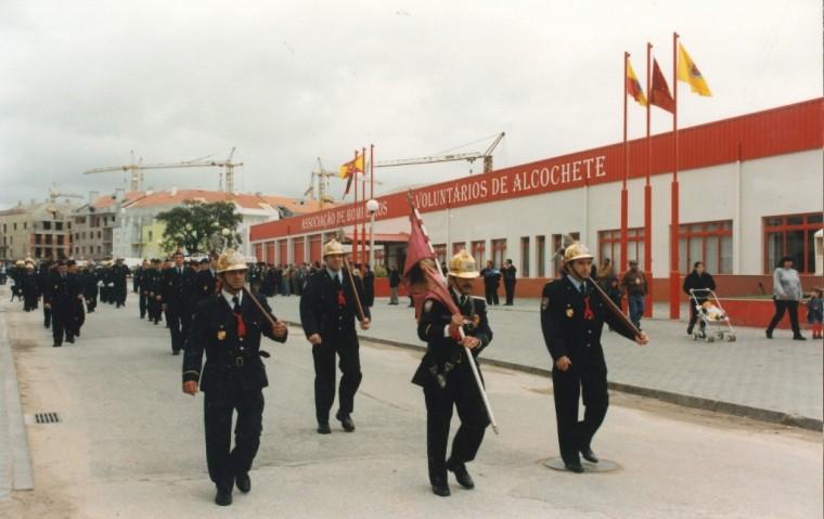 Inauguração do Quartel